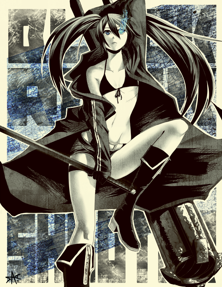 black rock shooter by radiostarkiller