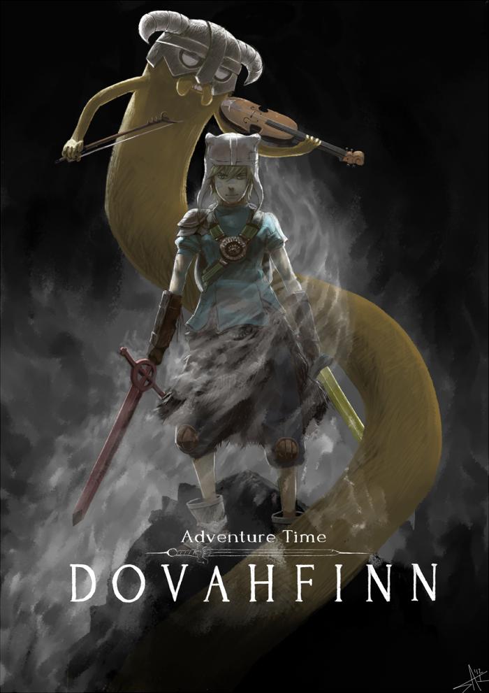 DovahFinn by radiostarkiller