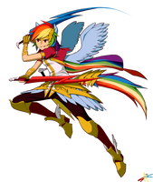 Rainbow Dash by radiostarkiller