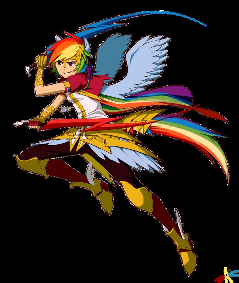 Rainbow Dash By Radiostarkiller On DeviantArt