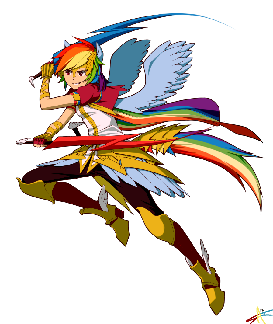 Rainbow Dash by radiostarkiller