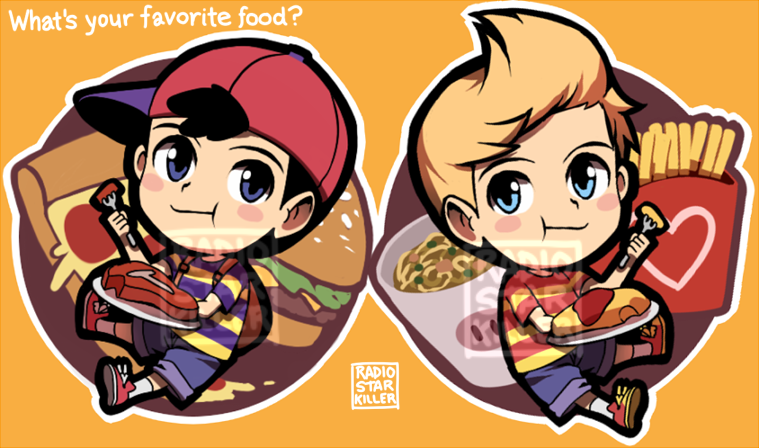 What is your favorite food? [acrylic charms] by radiostarkiller