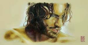 Edgar Ramirez portrait by dmkozicka