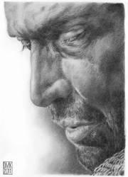 James Purefoy portrait by dmkozicka
