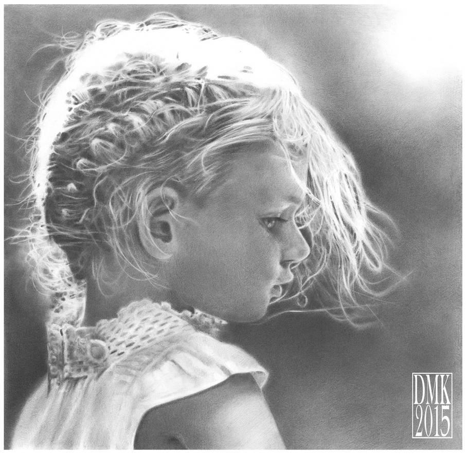 little girl portrait ( commission )