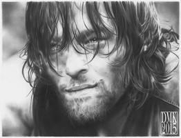 Norman Reedus portrait 2