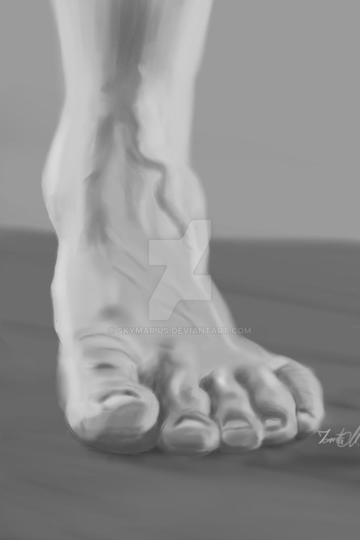 Foot by SkyMarius