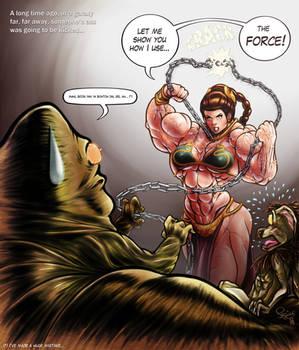 Slave Leia rises up