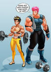 Tracer workout (w/ Zarya)