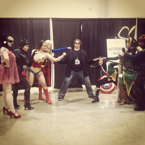 Anime Vegas - Marvel vs DC by ShinrasFlurry