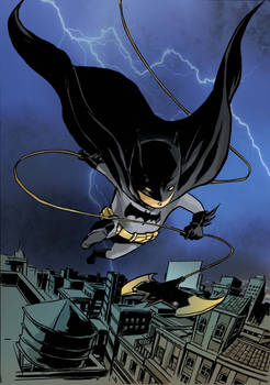 batman on the night