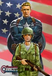 Captain America by emmanuelxerxjavier