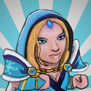 Crystal Maiden dota 2 Steam avatar by MAWpls