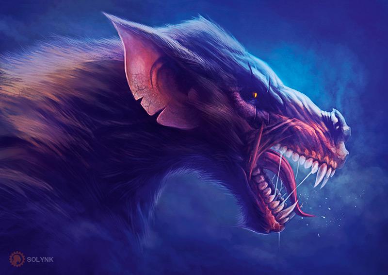 Werewolf-08-by-Solynk by SOLYNK