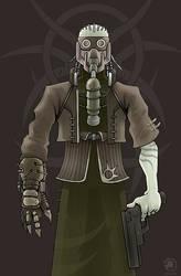 post apocalypse inhabitant by SOLYNK