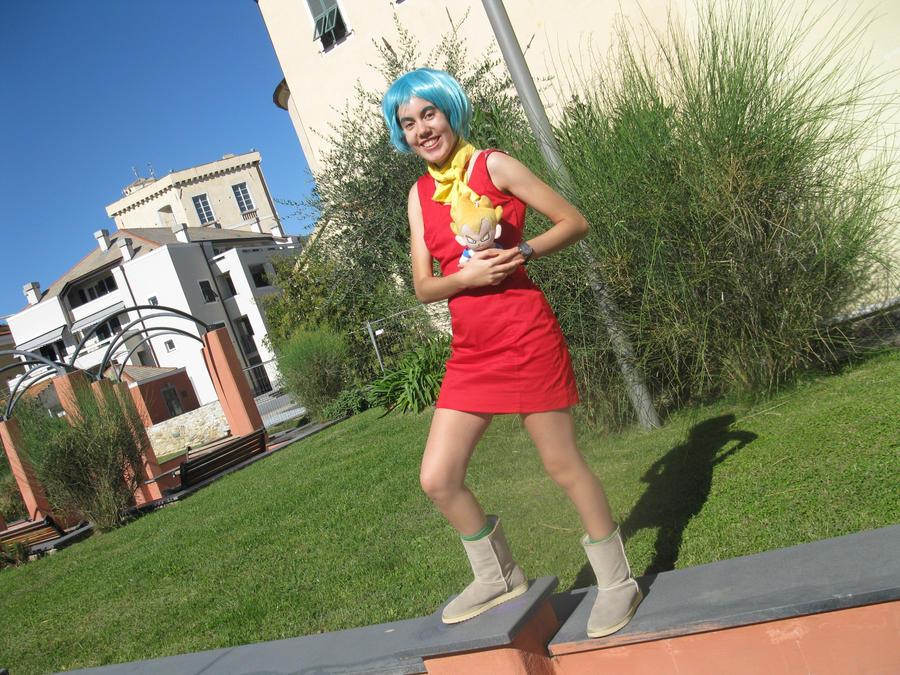 and bulma cosplay Vegeta