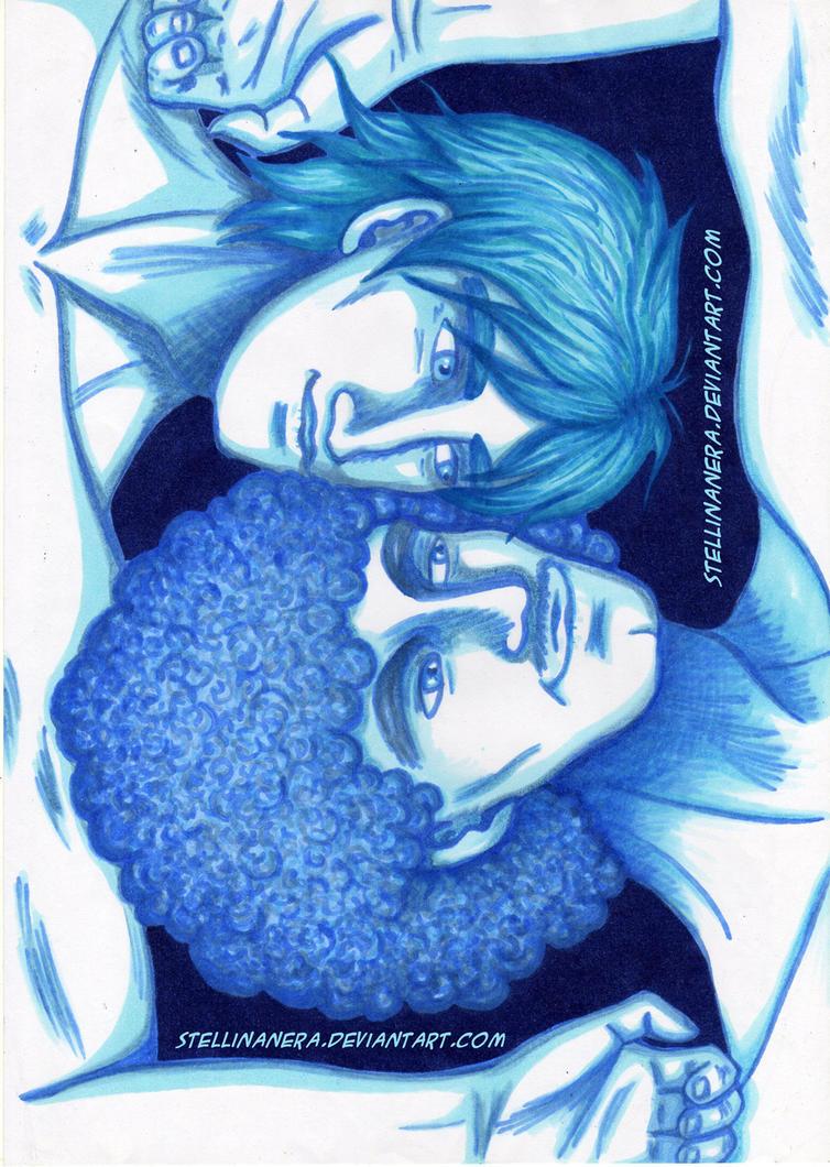 Blue Harmony or Peace by stellinanera