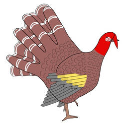 Hand Turkey Meme by Cerra-Angel
