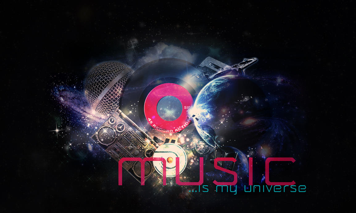 Music is my universe by demwarriors