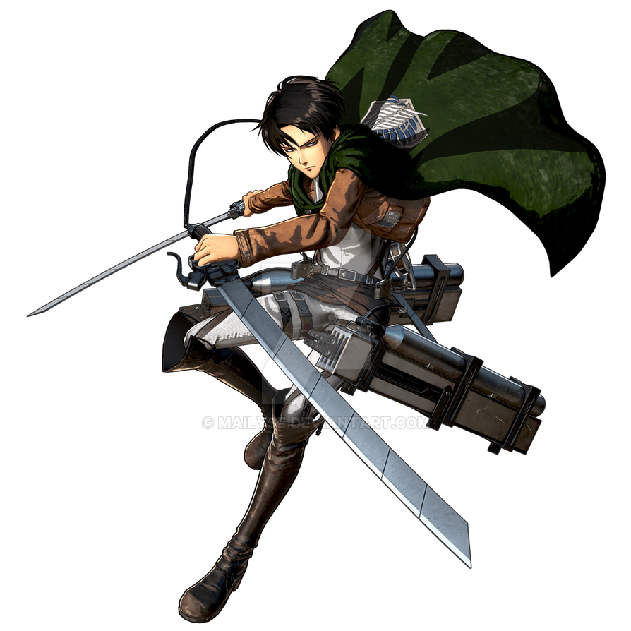 AOT  Levi Ackerman ( Render ) by Mailyse on DeviantArt