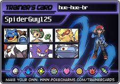 trainercard-SpiderGuy125 oficial team by spiderguy126
