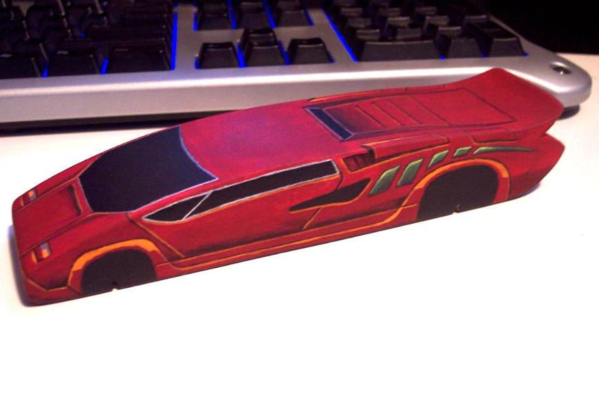 Pinewood Derby Lamborghini By Ashes On Deviantart