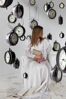 Raining Clocks by daguerreoty-pe