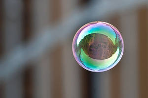 My city in a bubble by daguerreoty-pe