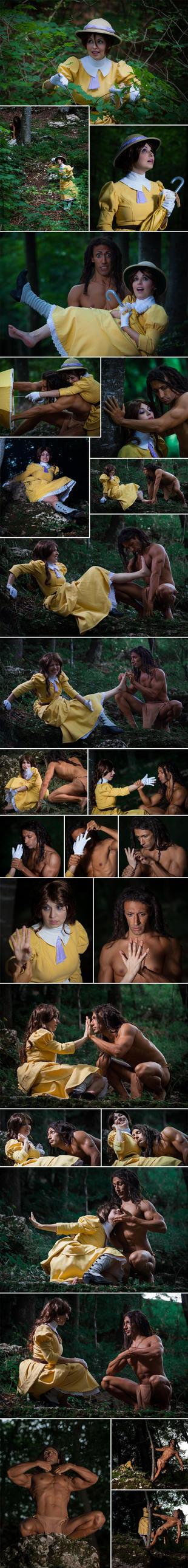 Tarzan meets Jane by daguerreoty-pe