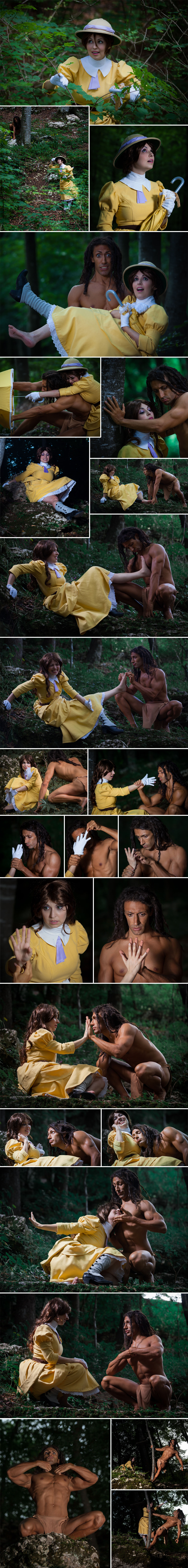 Tarzan meets Jane by daguerreoty-pe