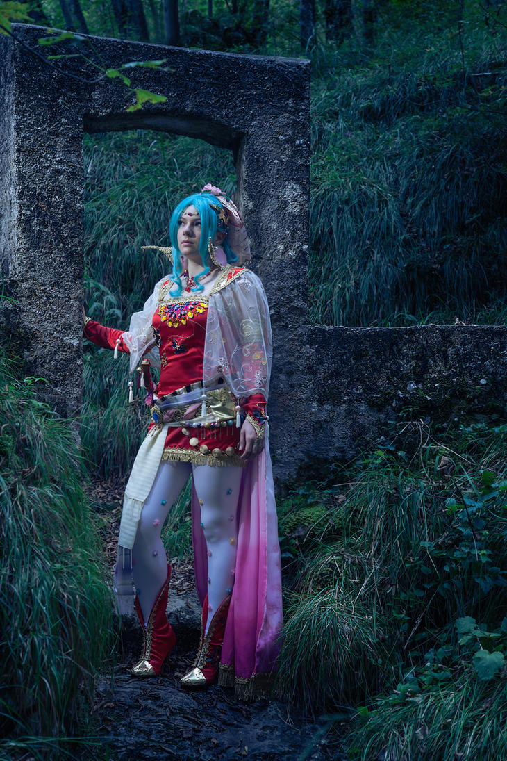 Elsa as Terra by daguerreoty-pe