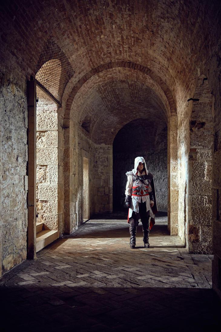 Ezio Auditore by daguerreoty-pe