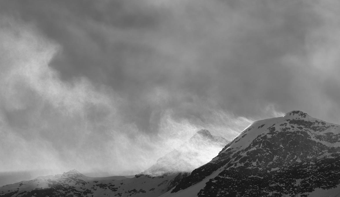 Wind versus Snow by daguerreoty-pe