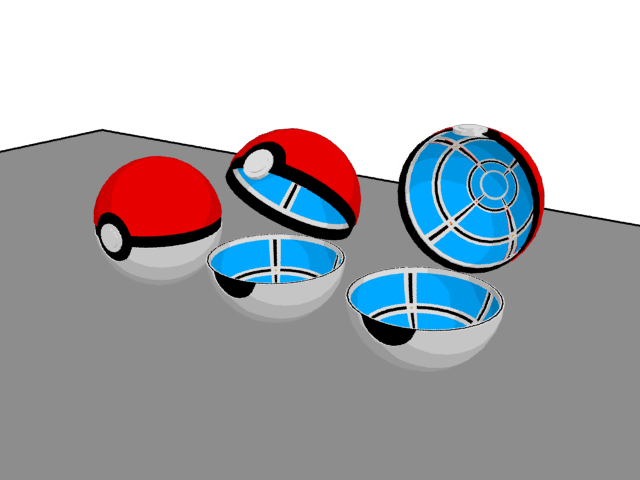 3 Pokeball Open Stages By JohtoProject