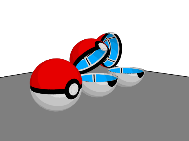 3 Pokeball Open Stages Side By JohtoProject