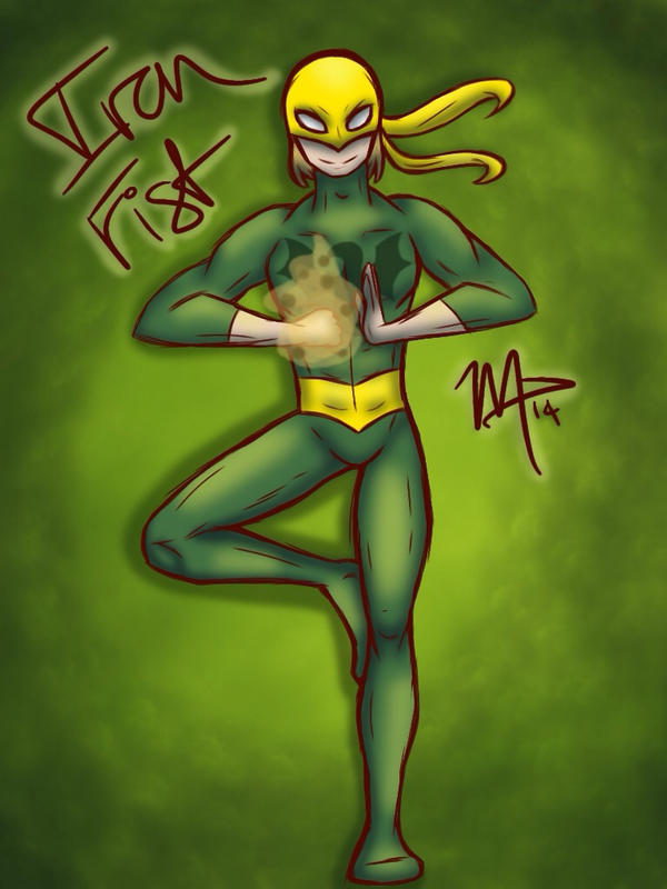 Iron Fist (updated!!) by sophisticatedghost