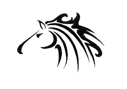 Running horse by tinsel shine on deviantart for Running horse tattoo