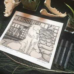 FOR SALE - Under the Bridge - Print