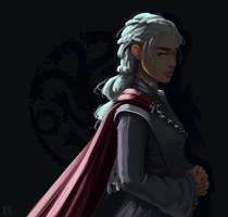 Daenerys Targaryen by kyraichu