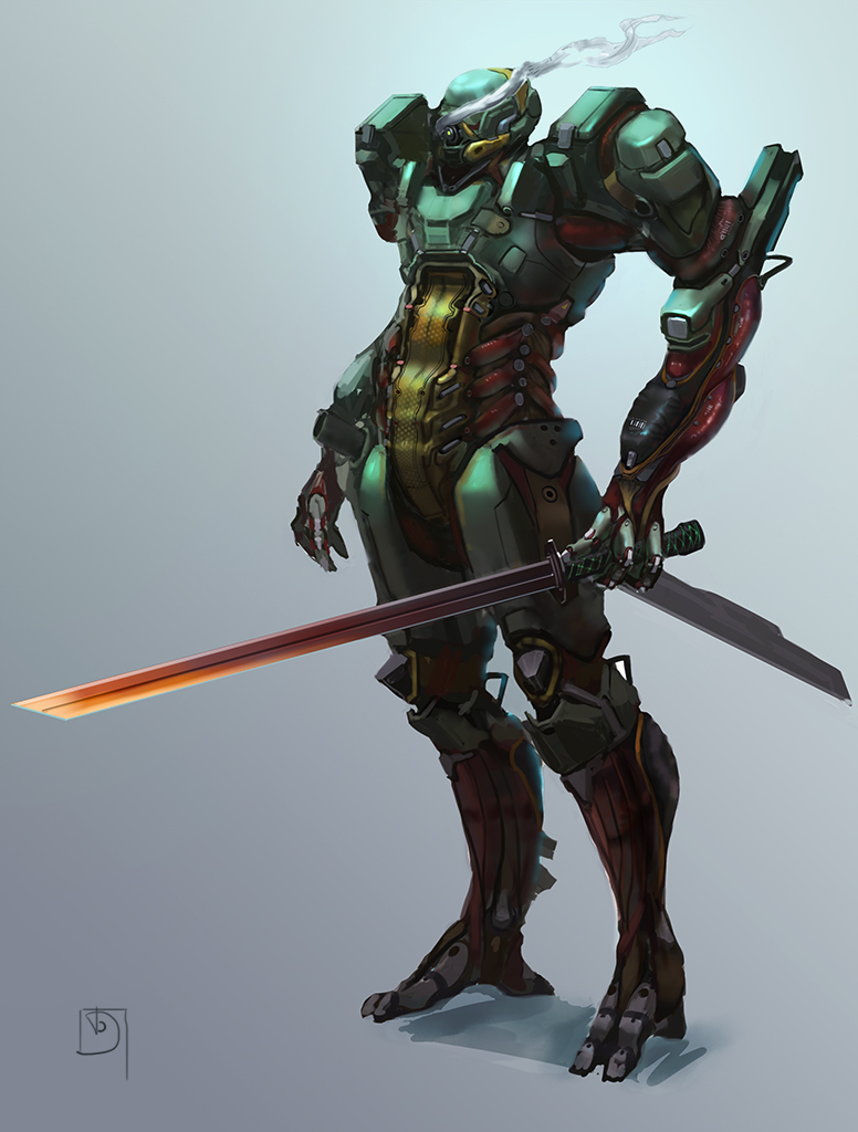 Cyber samurAI by Trufanov