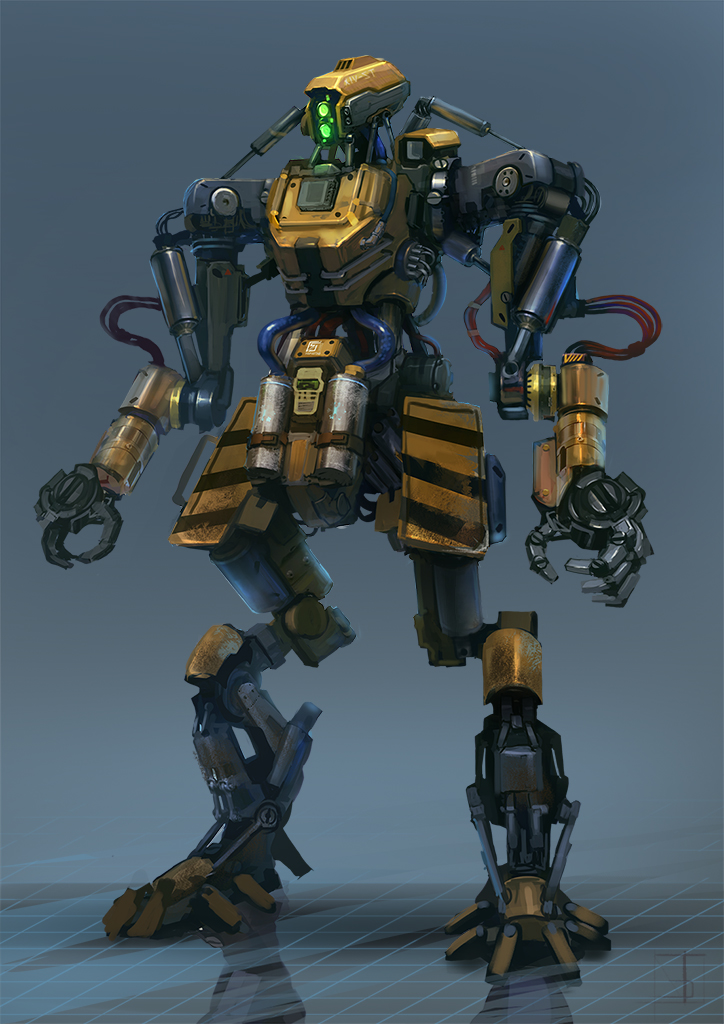 Worker Bot by Trufanov