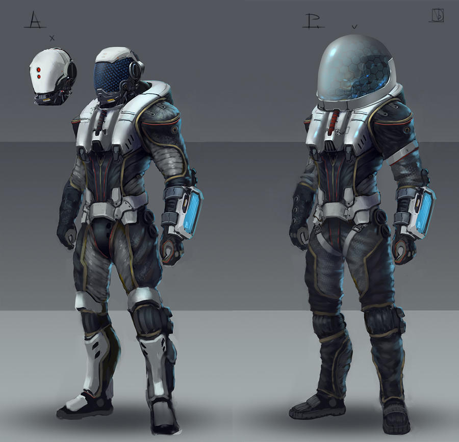 astronaut suit concept - photo #13