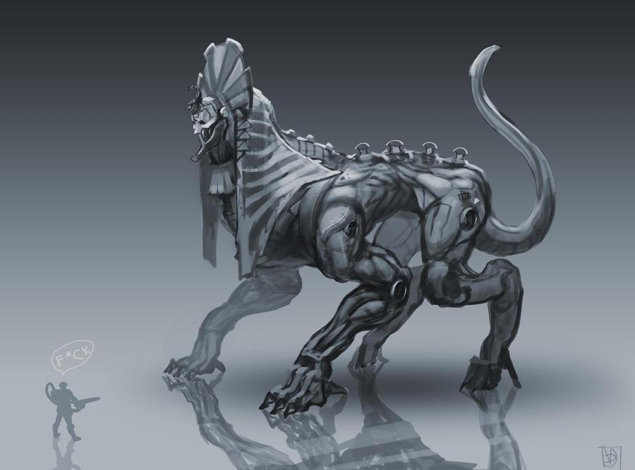 Necrosphinx by Trufanov