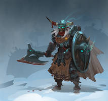 undead viking by Trufanov