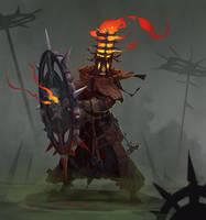 Undead inquisitor by Trufanov