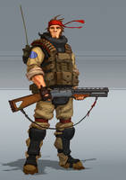 SHOOTGUN man by Trufanov