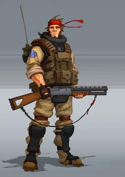 SHOOTGUN man