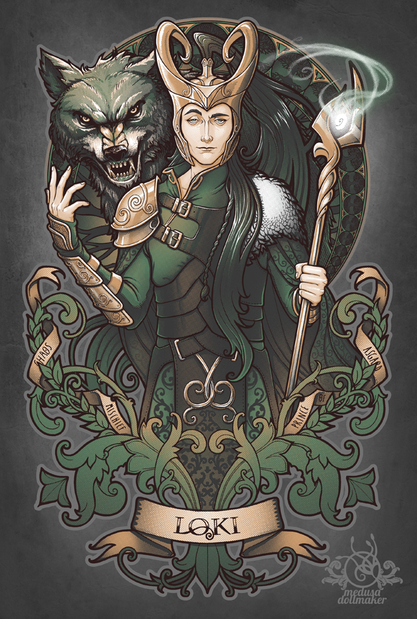 LOKI By Medusa Dollmaker