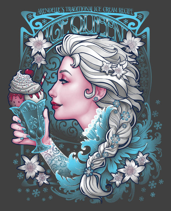Ice Cream Queen by Medusa-Dollmaker