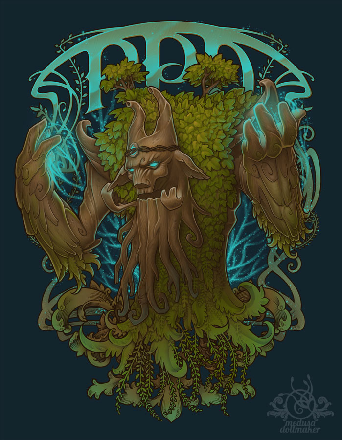 PPD TREE Commision by Medusa-Dollmaker